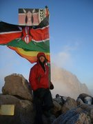Rock Climbing Photo: Point Lenana, Mt. Kenya