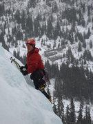 Rock Climbing Photo: Tom solo