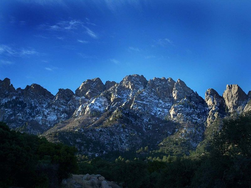 Organ Mountains from the East. Just beautiful!