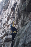 Rock Climbing Photo: clipping bolts