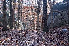 Rock Climbing Photo: Looking toward Lost Digits