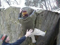 Rock Climbing Photo: John K. sending