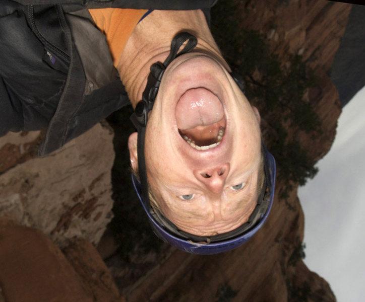 Rock Climbing Photo: self-portrait, sedona