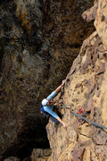 Rock Climbing Photo: Marisa Fienup on Rational Expectations, at the For...