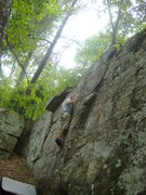 Rock Climbing Photo: Colbert Heights unkown route name, nice route with...