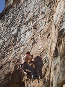 Rock Climbing Photo: about to make the crux move. as usual i have weird...