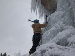 Rock Climbing Photo: Katy @ Ute-Ule.