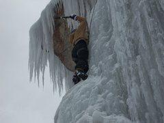 Rock Climbing Photo: Working my way up!