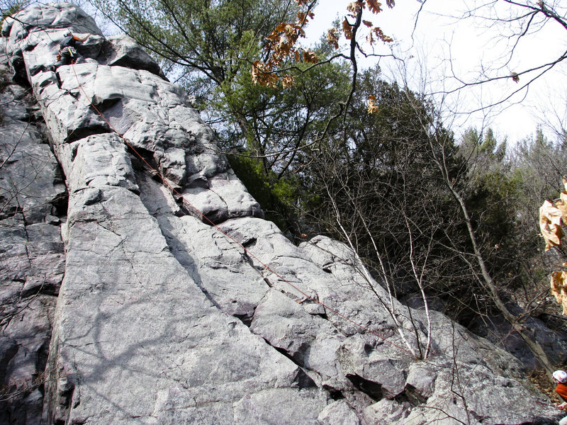 Rock Climbing Photo: Pork Chop Buttress