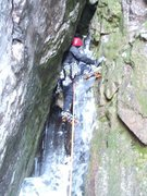 Rock Climbing Photo: The gnar on P5.