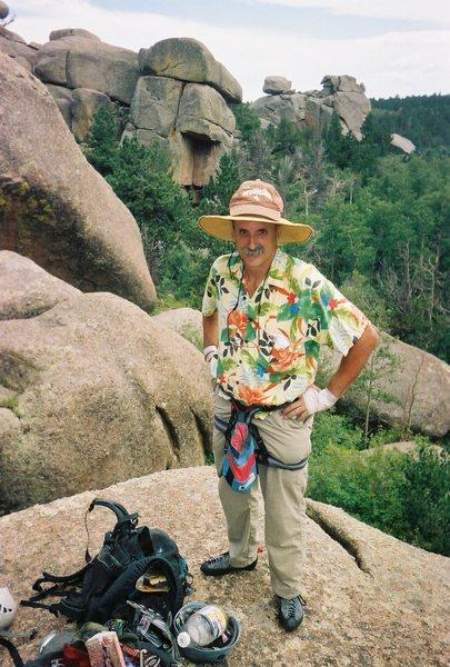 Rock Climbing Photo: Richard Sims