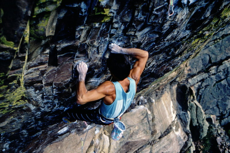 Bob Horan on 3rd ascent of Your Mother.