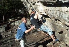 Rock Climbing Photo: D.C. Memorial Boulder Summersville WV