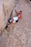 Rock Climbing Photo: John Bachar on Spider Line, early 1980's. Photo by...