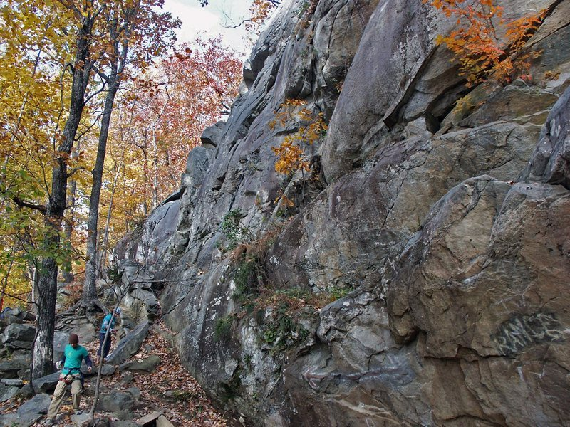 Rock Climbing Photo: Climbing at the Lowers