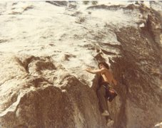 Rock Climbing Photo: Bruce Diffenbaugh at the base before starting up S...