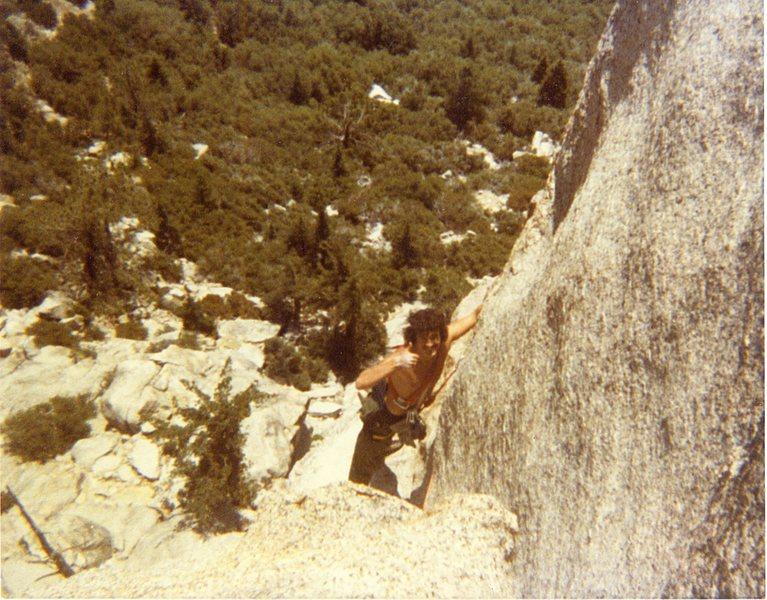 Bruce Diffenbaugh on Ski Tracks '81 or '82.