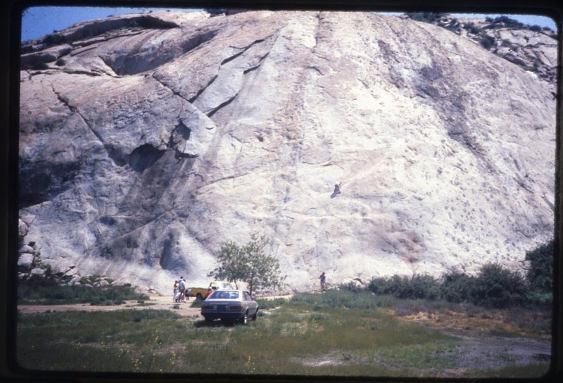 Big Rock in the early 80's when you could park at the rock.