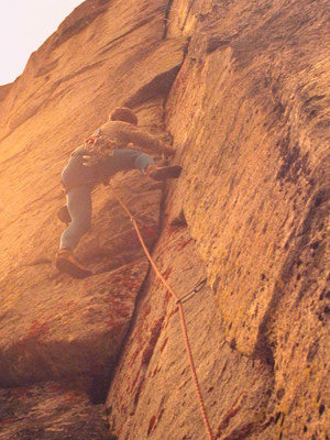 Rock Climbing Photo: Max Dufford on YAHOODY, East Face.
