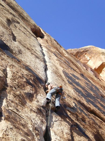Rock Climbing Photo: Starting up Generic