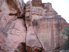 Rock Climbing Photo: Close up shot of Wrangler Hero.