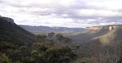 The beautiful Wolgan Valley. Three hours' drive from Sydney, Australia. Scene of epic rock climbs and soon to be an exclusive resort for well-heeled travellers. I wonder if it will continue to be devoid of mobile (cell) phone coverage - probably not.