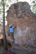 Rock Climbing Photo: Jeudy on Rabit, V0