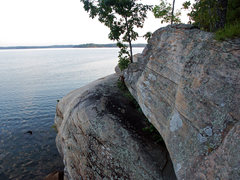 Rock Climbing Photo: More shoreline rocks
