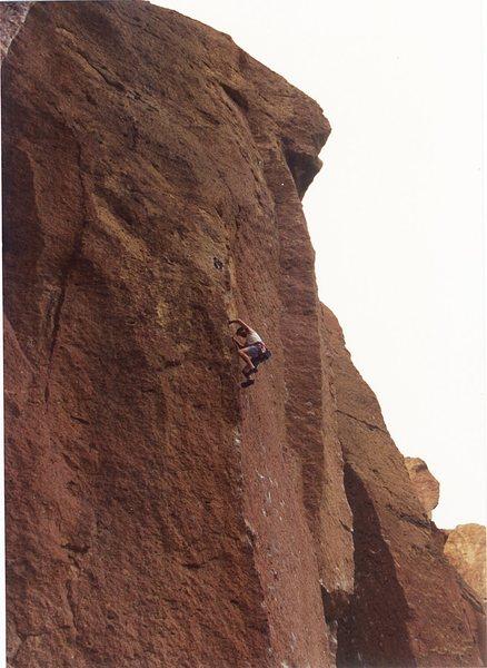 Me somewhere in Smith Rocks.