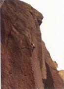 Rock Climbing Photo: Me somewhere in Smith Rocks.