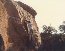 Rock Climbing Photo: My brother Doug Odenthal on Mommies Boys Right.