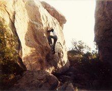 Rock Climbing Photo: Me on Mommies Boys.