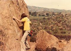 Rock Climbing Photo: Me on Ummagumma Crack.