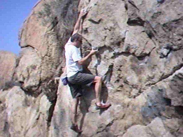 Rock Climbing Photo: Borsons Left