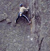 Rock Climbing Photo: Mark Rolofson leading Advanced Rock Climb. Photo: ...
