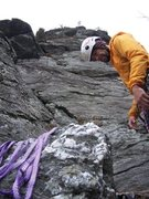 Rock Climbing Photo: The Start of the Prow