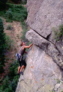 Rock Climbing Photo: Tony Herr on Sunset Arete. Photo: Bob Horan Collec...
