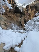 Rock Climbing Photo: Hidden Falls. Red Rock. Dec 18, 2008.