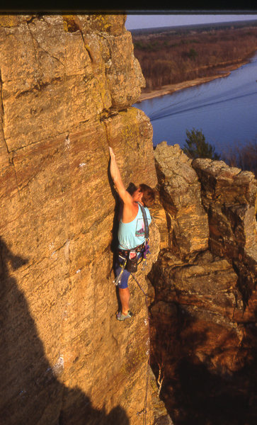 Rock Climbing Photo: Dave Groth Rebel yell