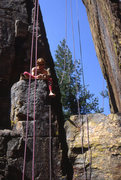 Rock Climbing Photo: The Y-Crack wall