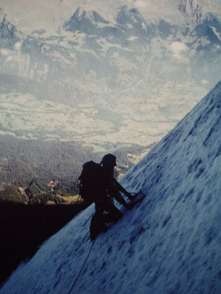 the Eiger in '78