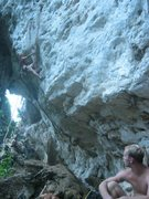 Rock Climbing Photo: knee bar city