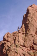 Rock Climbing Photo: Montezumas Tower North Ridge