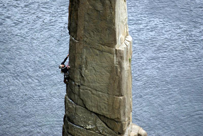 Rock Climbing Photo: the moai, 11- fortescue bay