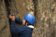 Rock Climbing Photo: moai, 5.9