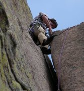 Rock Climbing Photo: So many rests on Mainstreet.... Photo taken by Bre...