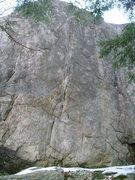 Rock Climbing Photo: Don't fall...