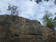 Rock Climbing Photo: Junco. Jimmy Cliff. Rumney, New Hampshire.