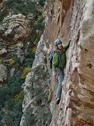 Rock Climbing Photo: Dream of Wild Turkeys, Black Velvet Canyon, Red Ro...