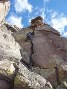 Rock Climbing Photo: Too Dumb.